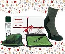 Vánoční set FLORES Army Pack
