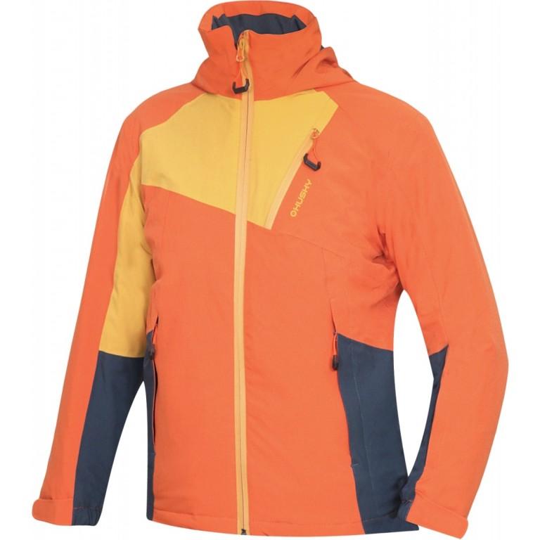5dca221c9063 Dětská bunda HUSKY Zawi JUNIOR - tl. oranžová - vel. 140   Outdoor-a ...
