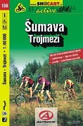 SHOCART Šumava, Trojmezí 156 (1:60 000)