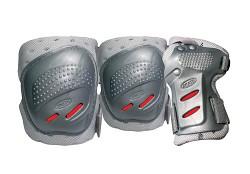 TEMPISH Cool Max 3 - stříbrná/červená - vel. XL