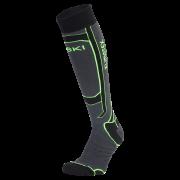 KLIMATEX Aspen1 - antracit/světle zelená - vel. 39-42