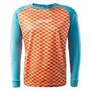 HUARI Nuevos Kids Blouse GK - orange tiger/scuba blue