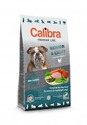 CALIBRA Dog Premium Line Senior & Light 12 kg + 3 kg ZDARMA