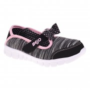 BEJO Bow Kids - black/pink - vel. 24