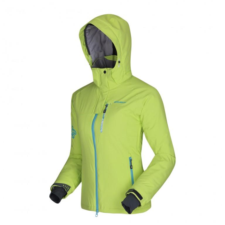 dcd3bbaa210b Dámská lyžařská bunda HUSKY Gappa - sv. zelená - vel. L   Outdoor-a ...