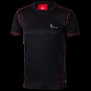 KLIMATEX Fedde - černá/červená - vel. S