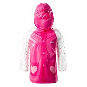 BEJO Cozy Raincoat Kids - bright rose - vel. 110-116