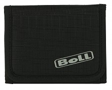 BOLL Tri-Fold Wallet - black/lime