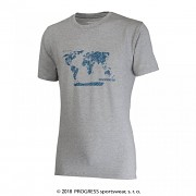 PROGRESS Barbar Svět - šedý melír - svět - vel. M