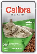 CALIBRA Cat kapsa Premium Sterilised Salmon 100 g
