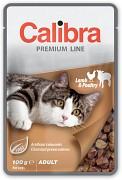 CALIBRA Cat kapsa Premium Adult Lamb & Poultry 100 g