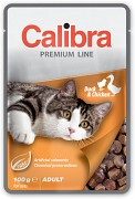 CALIBRA Cat kapsa Premium Adult Duck & Chicken 100 g