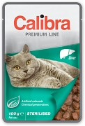 CALIBRA Cat kapsa Premium Sterilised Liver 100 g