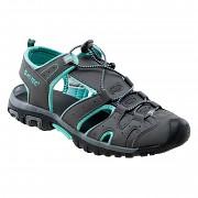 HI-TEC Merito Wo's - mid grey/turquoise -  vel. 38