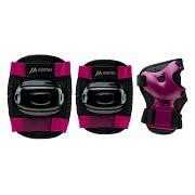 MARTES Garda Girl Protector Set - black/magenta purple