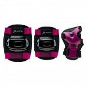 MARTES Garda Girl Protector Set - black/magenta purple - vel. S