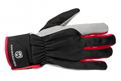 PROMACHER Carpos Velcro Gloves - grey-red - vel. S/7