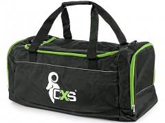 CXS sportovní taška 75x37,5x37,5 cm / 105 l - černá/zelená