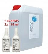 NWM DebriEcaSan Alfa 5 l + 2x 115 ml ZDARMA