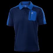KLIMATEX Caber1 - tm. modrá/modrá - vel. L